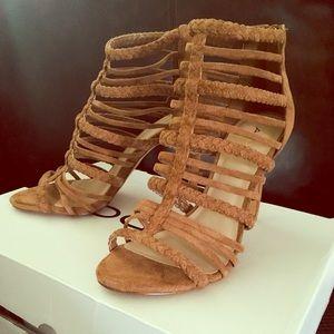 "ALDO ""Kedeavia"" caged stiletto heels size 6.5"